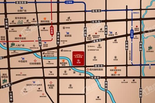 大有世家交通图