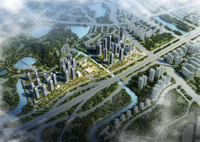 中国铁建海语熙岸效果图