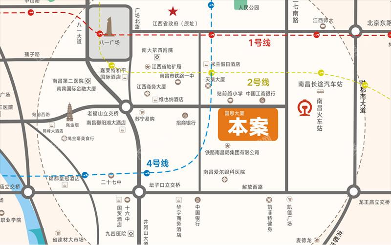 站前学府位置图