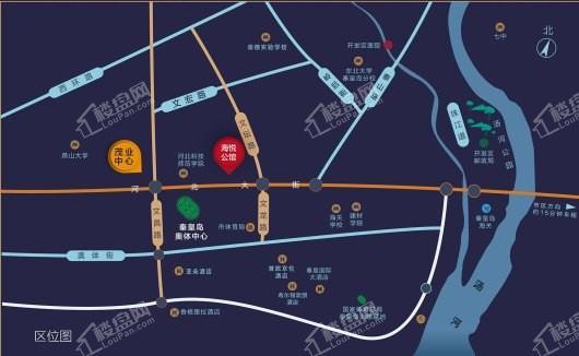 远洋海悦公馆二期交通图