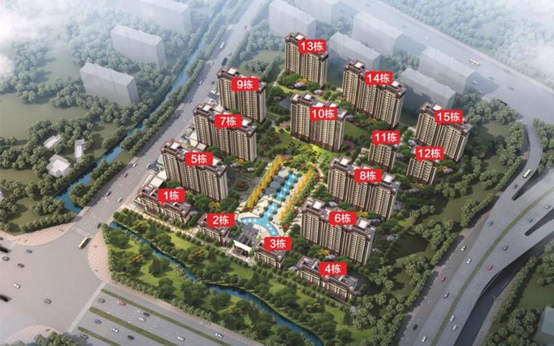 红旗大道首府实景图