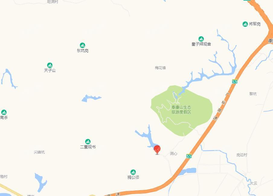 恒大山湖郡位置图