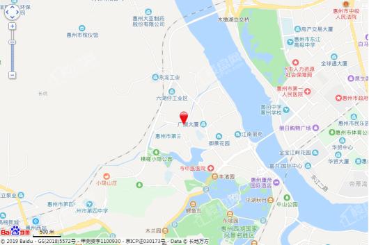 丽日湖逸家园二期交通图