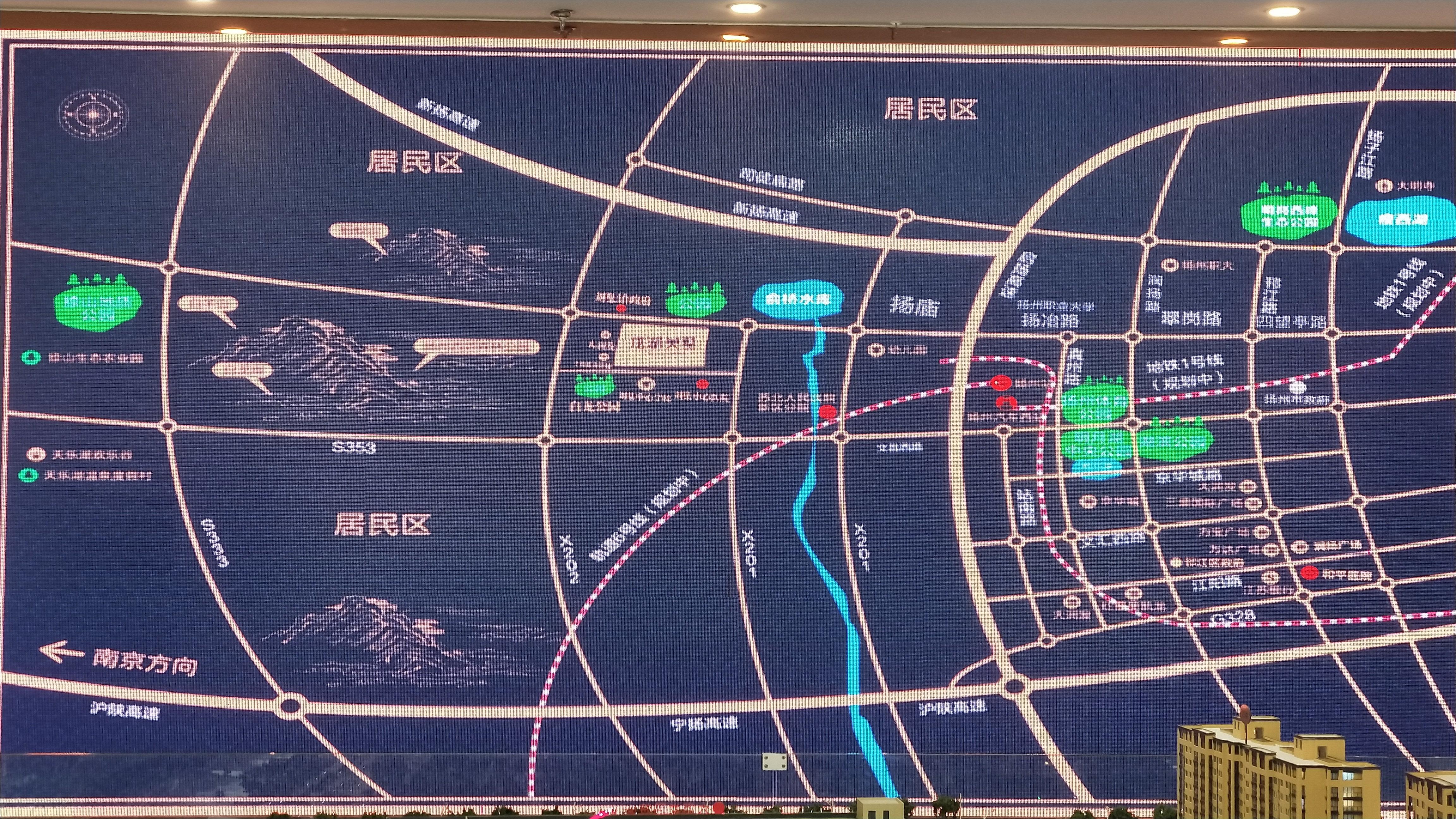 龙湖美墅位置图