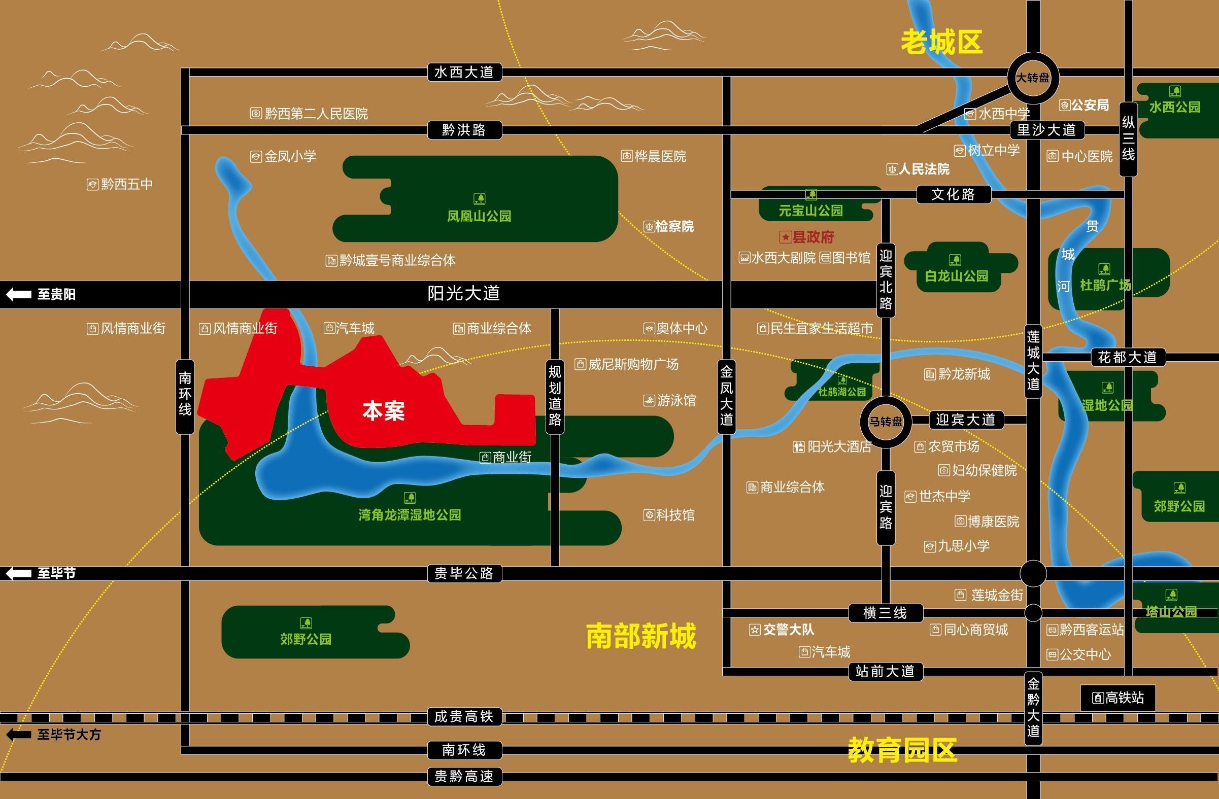 丰业·香缇湾位置图