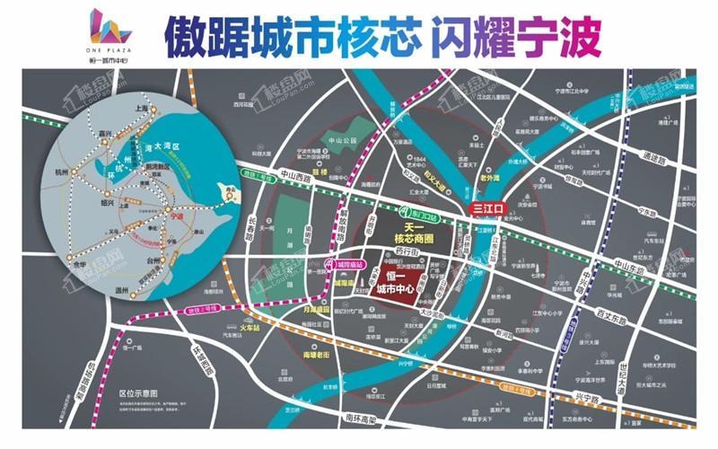 恒一城市广场(公寓)位置图