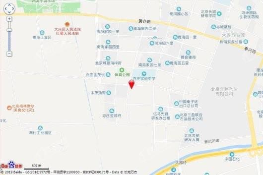 金隅学府交通图