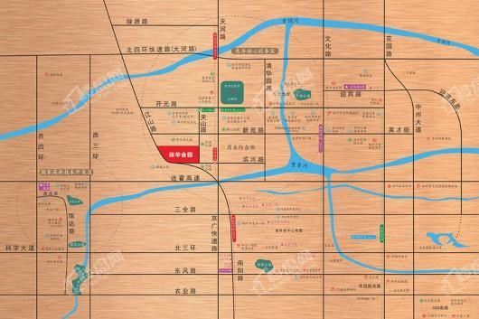 裕华会园交通图