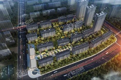 中海公园上城效果图