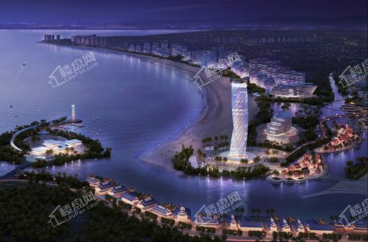 鼎龙湾国际海洋度假区效果图
