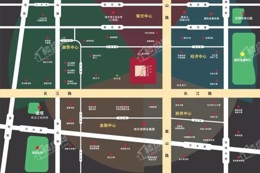 盟科山水间交通图