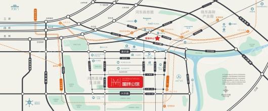 中国铁建·国际公馆区位