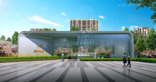 中国铁建·国际公馆大门