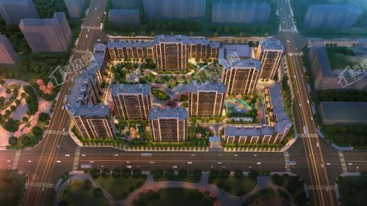中国铁建·国际公馆鸟瞰
