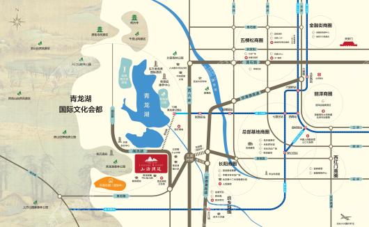 中国铁建·山语澜廷交通图