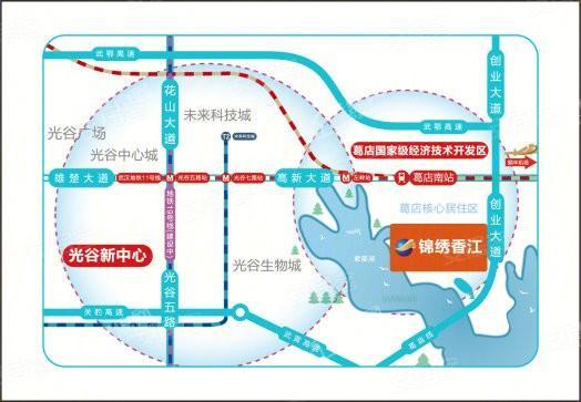 锦绣香江三十二院位置图