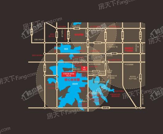 中国铁建梧桐苑阅立方交通图