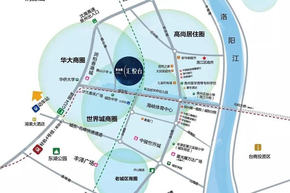 碧桂园汇悦台位置图