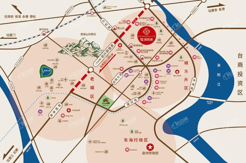 莲花万盛凤凰城位置图