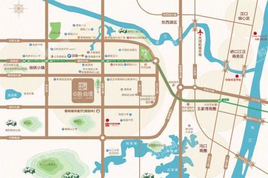 中海尚璟位置图
