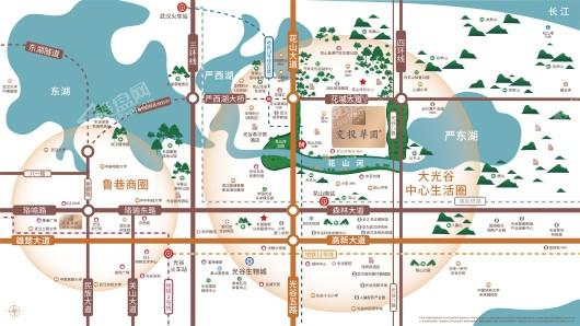 交投华园交通图