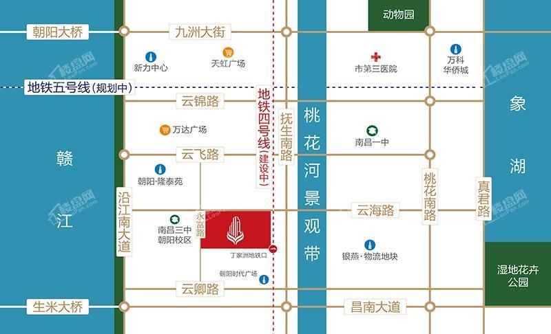 台湾健康产业城位置图