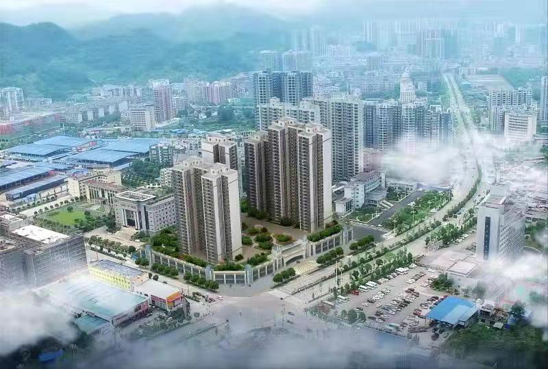 湘西武陵广场高清图