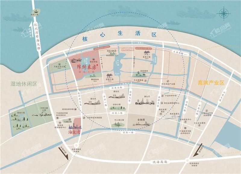 锦绣东方·国风小镇位置图