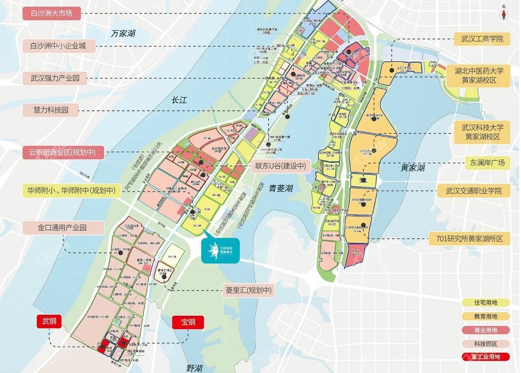 万科保利理想城市位置图