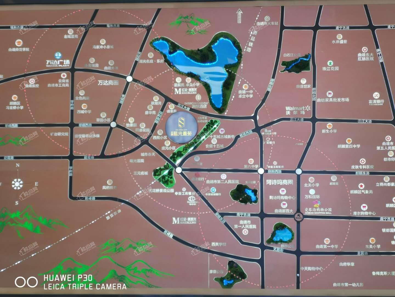 蓝光雅苑位置图