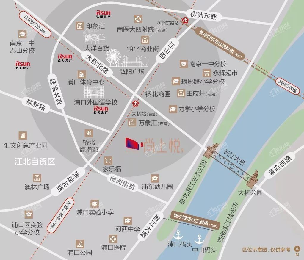 弘阳尚上悦苑位置图