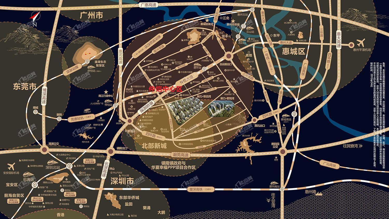 新力君悦湾花园||新力帝泊湾位置图