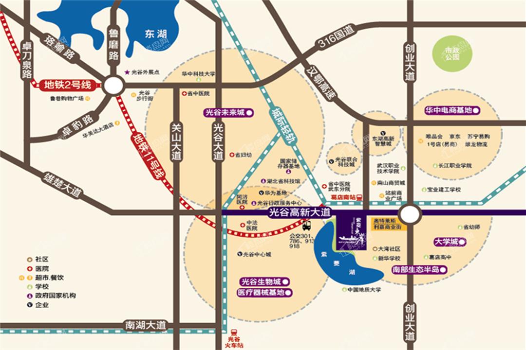 紫菱东岸位置图