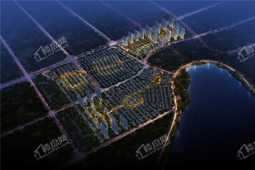 北大资源莲湖锦城效果图