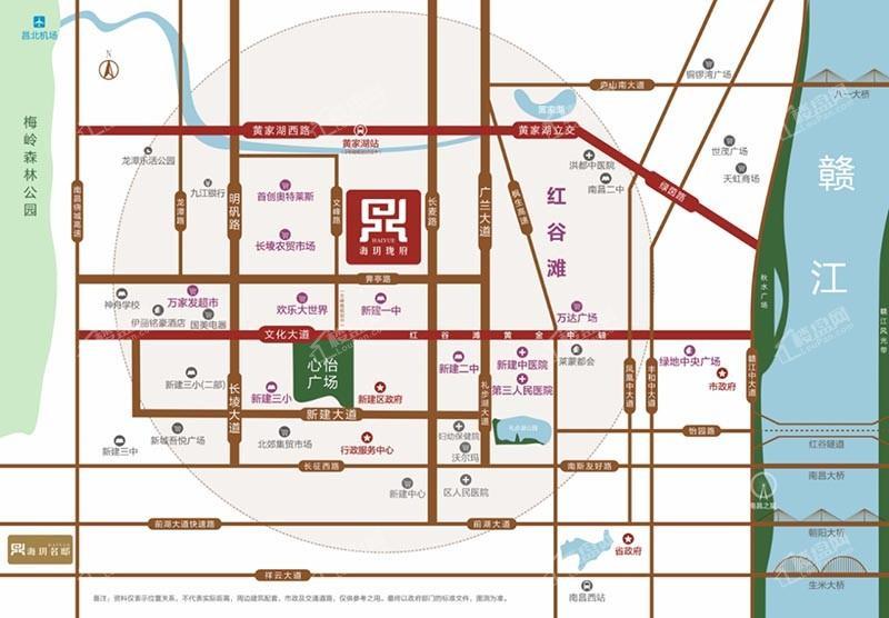 海玥珑府位置图