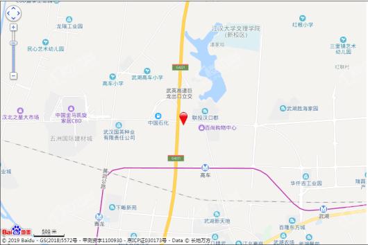 汉仓国际新城交通图