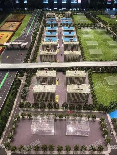 汉仓国际新城实景图