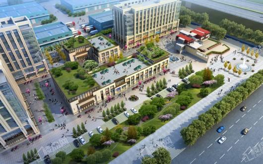 汉仓国际新城效果图