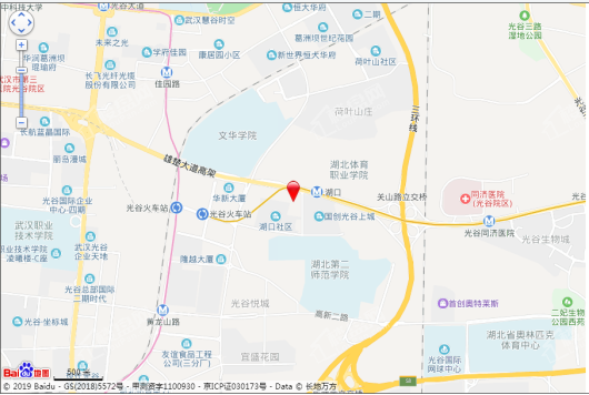 国创光谷上城尚寓交通图