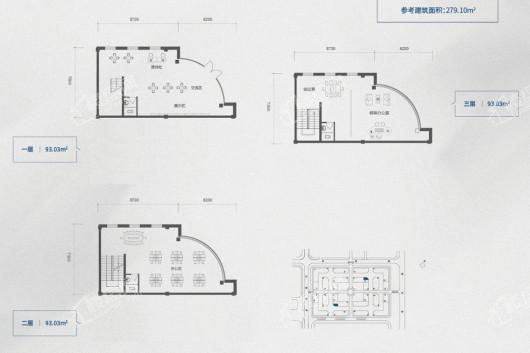 哈爾濱·哈南文化科技產業園戶型圖