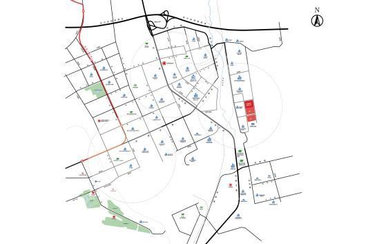 哈爾濱·哈南文化科技產業園交通圖