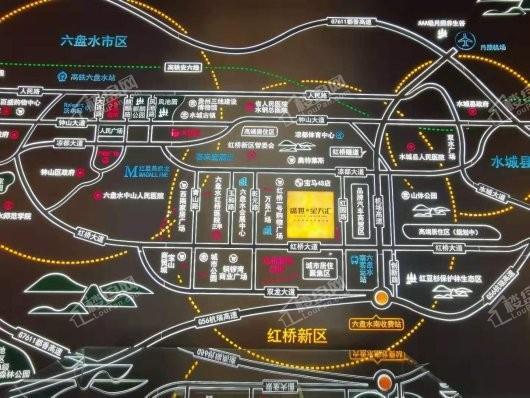 盛世.星天汇交通图