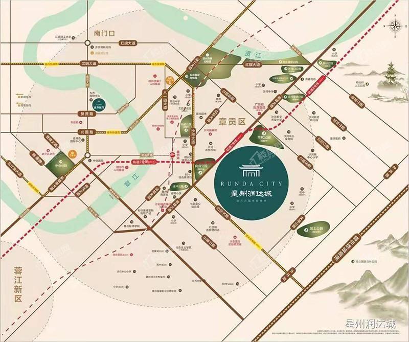 星州润达城位置图
