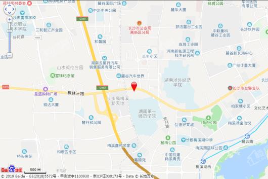梅溪悦章交通图
