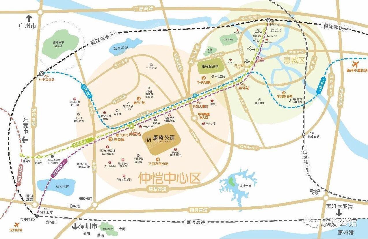 康桥公馆位置图