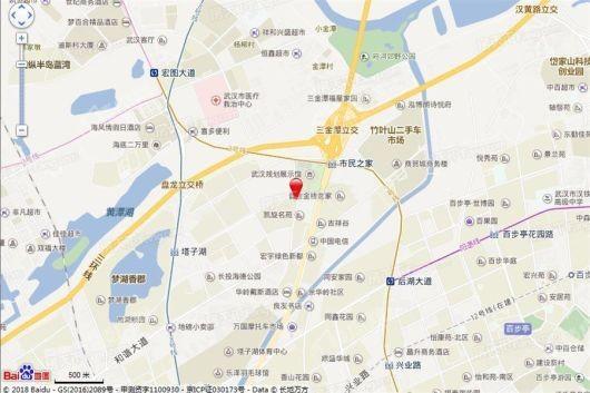 绿地汉口中心写字楼交通图