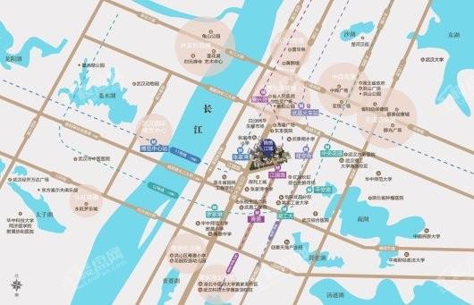 锦绣江城交通图