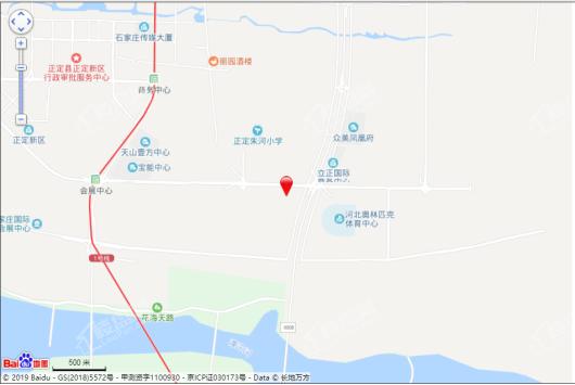 中海熙岸交通图