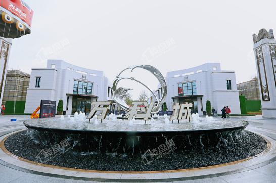 广州增城万科城实景图