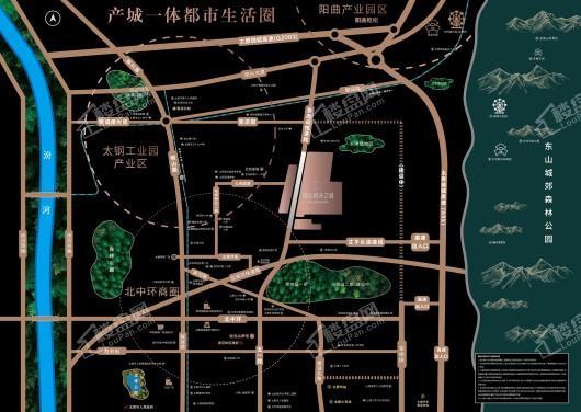 融信·时光之城交通图